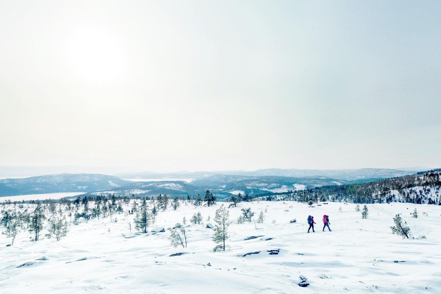 Vy från Slåttdalsberget
