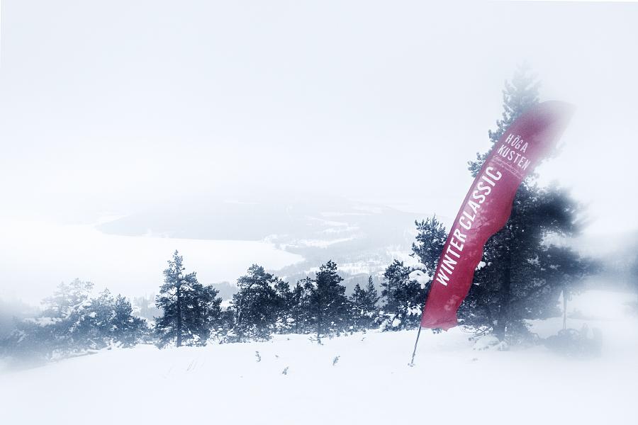 Höga Kusten Winter Classic's mållinje