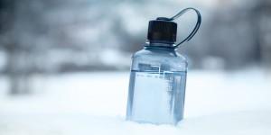 Värmetålig vattenflaska